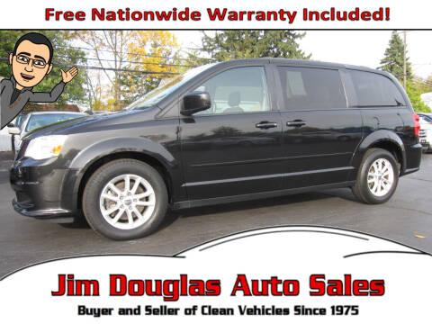 2015 Dodge Grand Caravan for sale at Jim Douglas Auto Sales in Pontiac MI