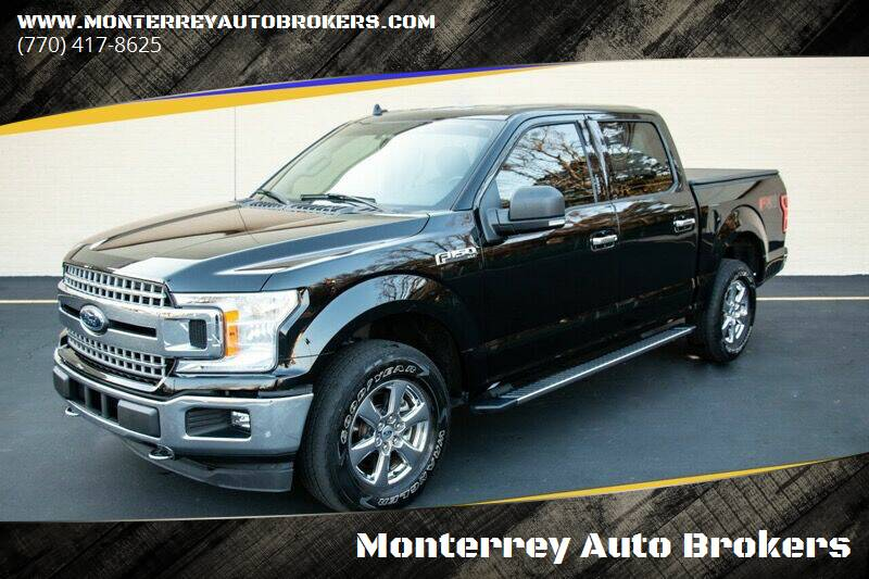 2018 Ford F-150 for sale at Monterrey Auto Brokers in Decatur GA