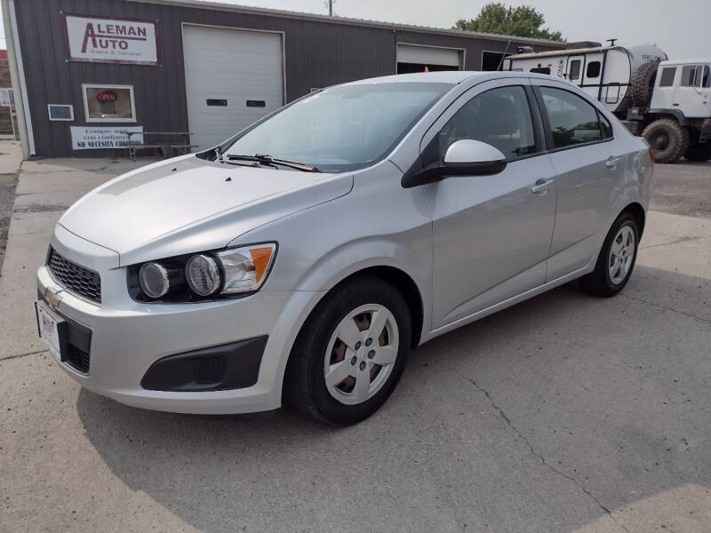 2016 Chevrolet Sonic for sale at ALEMAN AUTO INC in Norfolk NE
