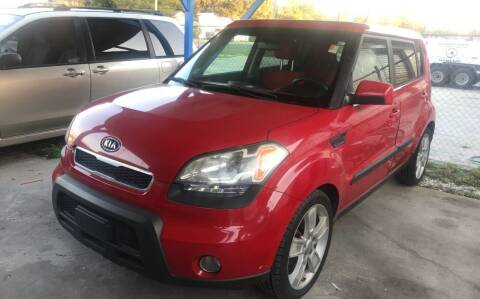 2011 Kia Soul for sale at SKYLINE AUTO SALES LLC in Winter Haven FL