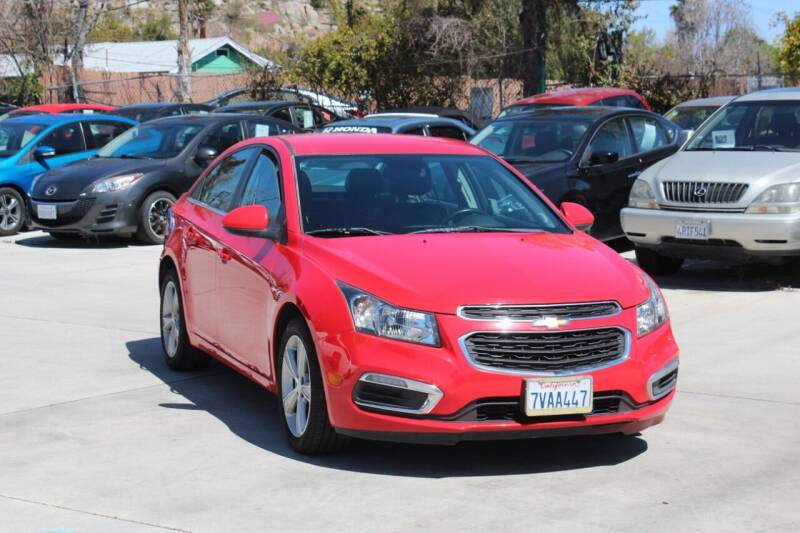 2016 Chevrolet Cruze Limited for sale at Car 1234 inc in El Cajon CA