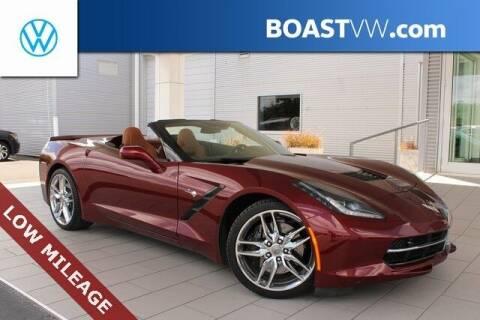 2016 Chevrolet Corvette for sale at BOAST MOTORCARS in Bradenton FL