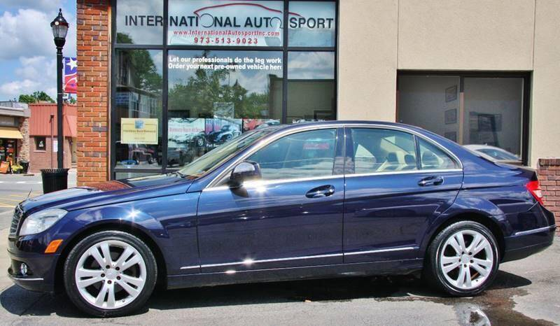 2008 Mercedes-Benz C-Class for sale at INTERNATIONAL AUTOSPORT INC in Pompton Lakes NJ