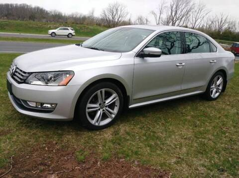 2015 Volkswagen Passat for sale at Motorsport Garage in Neshanic Station NJ