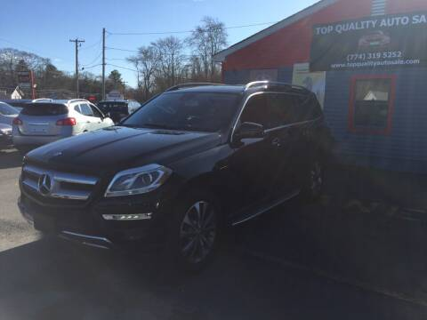 2013 Mercedes-Benz GL-Class for sale at Top Quality Auto Sales in Westport MA
