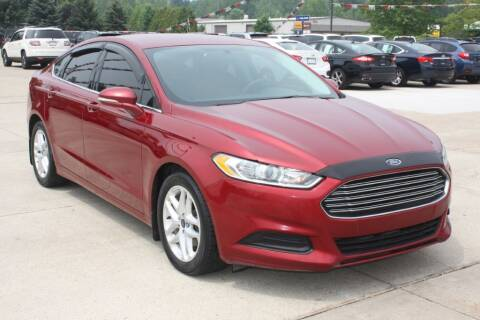 2015 Ford Fusion for sale at Sandusky Auto Sales in Sandusky MI