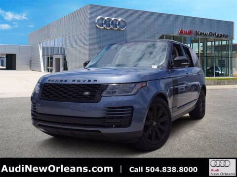 2019 Land Rover Range Rover for sale at Metairie Preowned Superstore in Metairie LA
