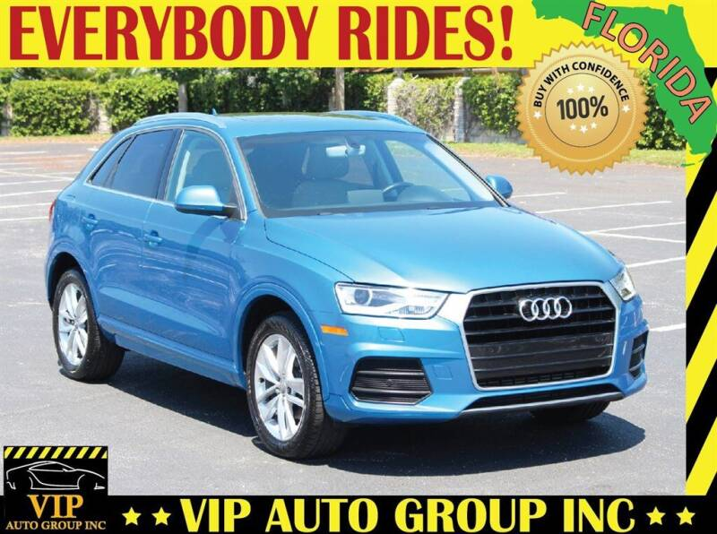 2016 Audi Q3 for sale at VIP Auto Group in Clearwater FL