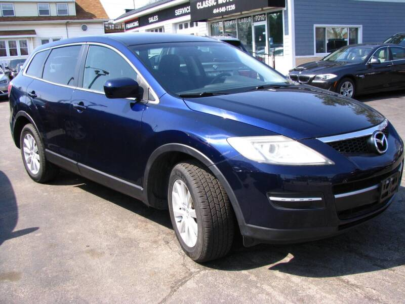 2008 Mazda CX-9 for sale at CLASSIC MOTOR CARS in West Allis WI