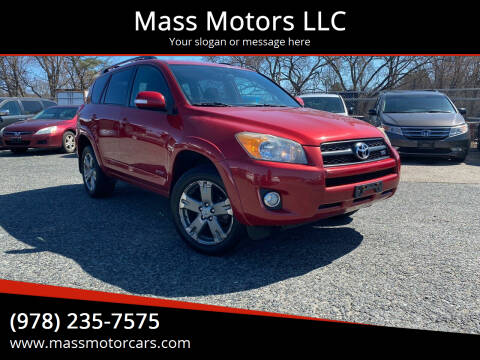 2010 Toyota RAV4 for sale at Mass Motors LLC in Worcester MA