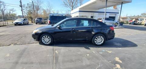2013 Chrysler 200 for sale at Bill Bailey's Affordable Auto Sales in Lake Charles LA