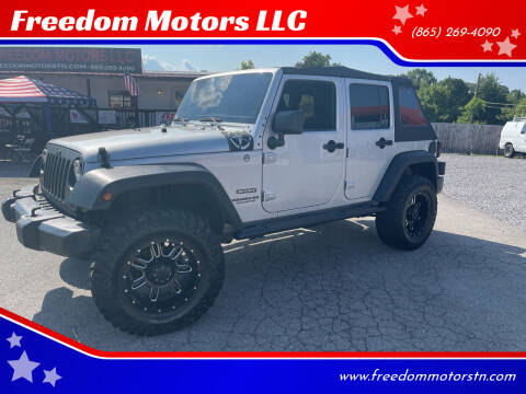 2012 Jeep Wrangler Unlimited for sale at Freedom Motors LLC in Knoxville TN
