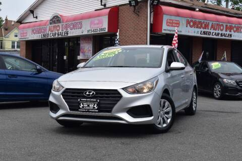 2018 Hyundai Accent for sale at Foreign Auto Imports in Irvington NJ