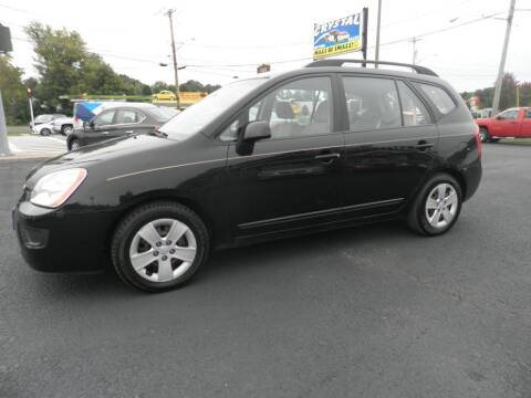 2009 Kia Rondo for sale at CRYSTAL MOTORS SALES in Rome NY