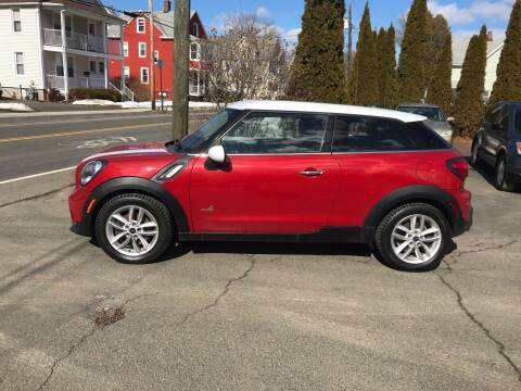2013 MINI Paceman for sale at Auto Kraft in Agawam MA