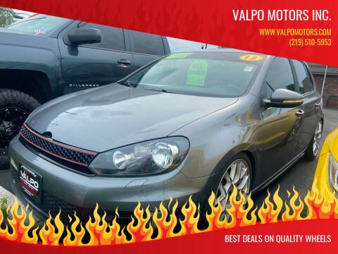 2013 Volkswagen GTI for sale at Valpo Motors in Valparaiso IN