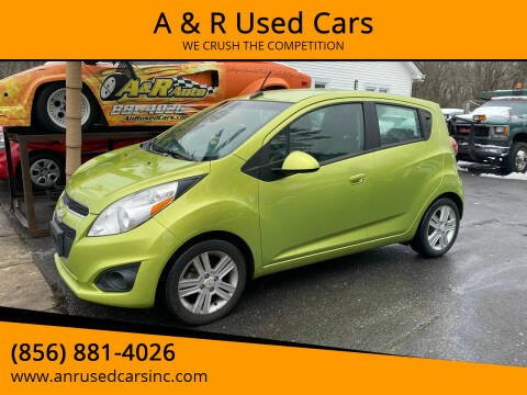 2013 Chevrolet Spark for sale at A & R Used Cars in Clayton NJ
