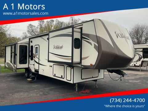 2017 Forest River Wildcat for sale at A 1 Motors in Monroe MI