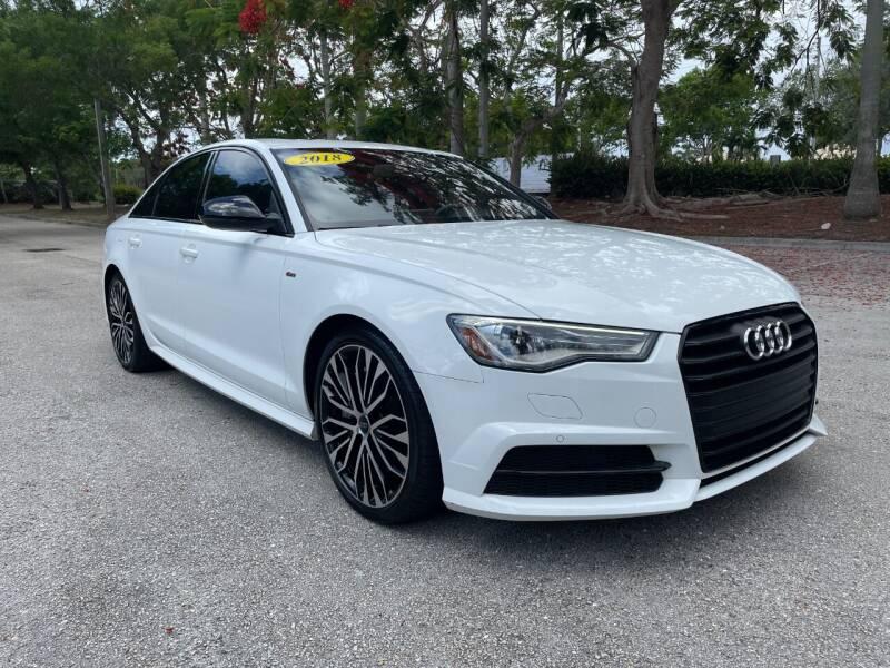 2018 Audi A6 for sale at DELRAY AUTO MALL in Delray Beach FL