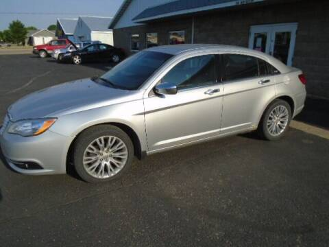 2012 Chrysler 200 for sale at SWENSON MOTORS in Gaylord MN