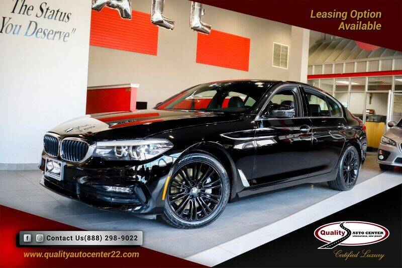 2018 BMW 5 Series for sale at Quality Auto Center in Springfield NJ