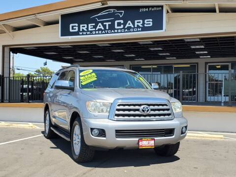 2008 Toyota Sequoia for sale at Great Cars in Sacramento CA