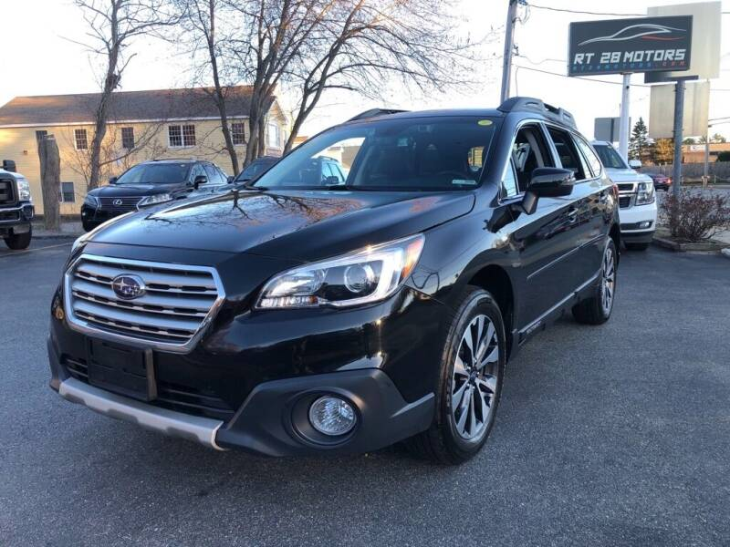 2017 Subaru Outback for sale at RT28 Motors in North Reading MA