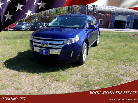 2013 Ford Edge for sale at Roys Auto Sales & Service in Hudson NH