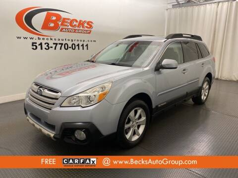 2013 Subaru Outback for sale at Becks Auto Group in Mason OH