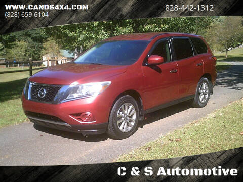 2014 Nissan Pathfinder for sale at C & S Automotive in Nebo NC