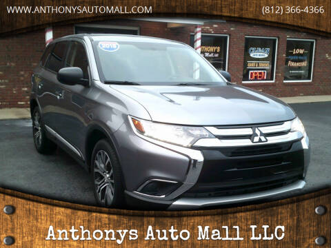 2018 Mitsubishi Outlander for sale at Anthonys Auto Mall LLC in New Salisbury IN