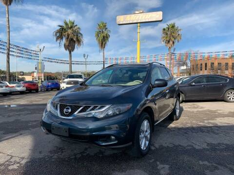 2011 Nissan Murano for sale at A MOTORS SALES AND FINANCE in San Antonio TX