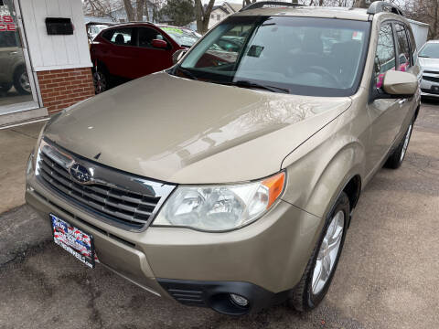 2009 Subaru Forester for sale at New Wheels in Glendale Heights IL