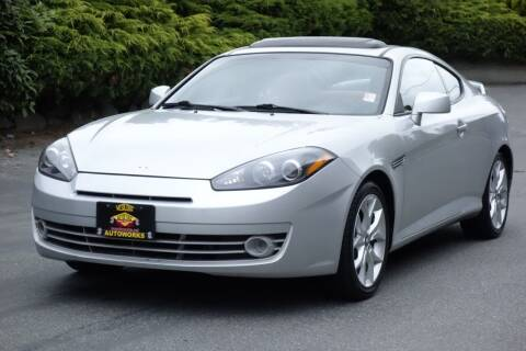 2008 Hyundai Tiburon for sale at West Coast Auto Works in Edmonds WA