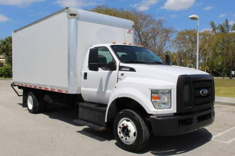 2016 Ford F-650 Super Duty for sale at Truck and Van Outlet in Miami FL