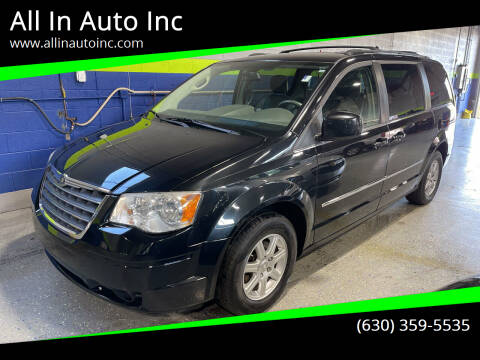 2009 Chrysler Town and Country for sale at All In Auto Inc in Addison IL