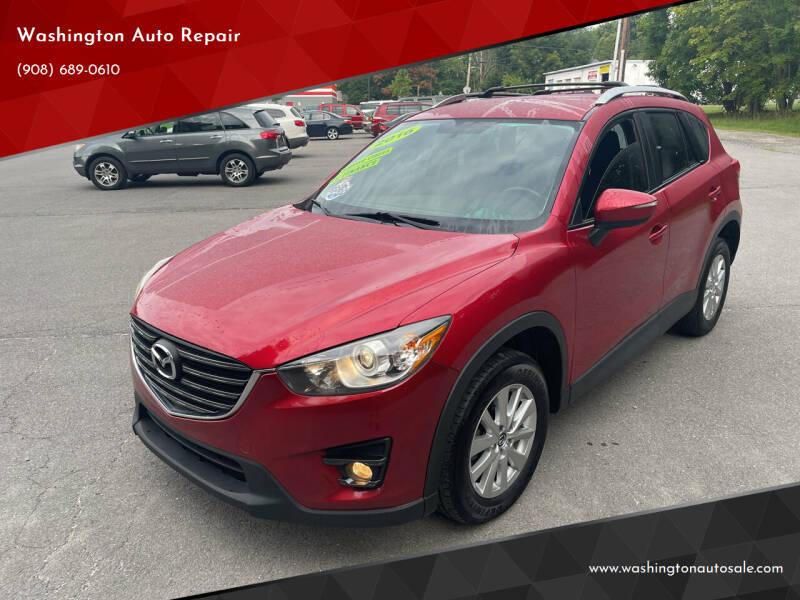 2016 Mazda CX-5 for sale at Washington Auto Repair in Washington NJ