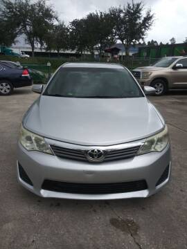 2012 Toyota Camry for sale at Track One Auto Sales in Orlando FL