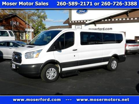 2016 Ford Transit Passenger for sale at Moser Motors Of Portland in Portland IN