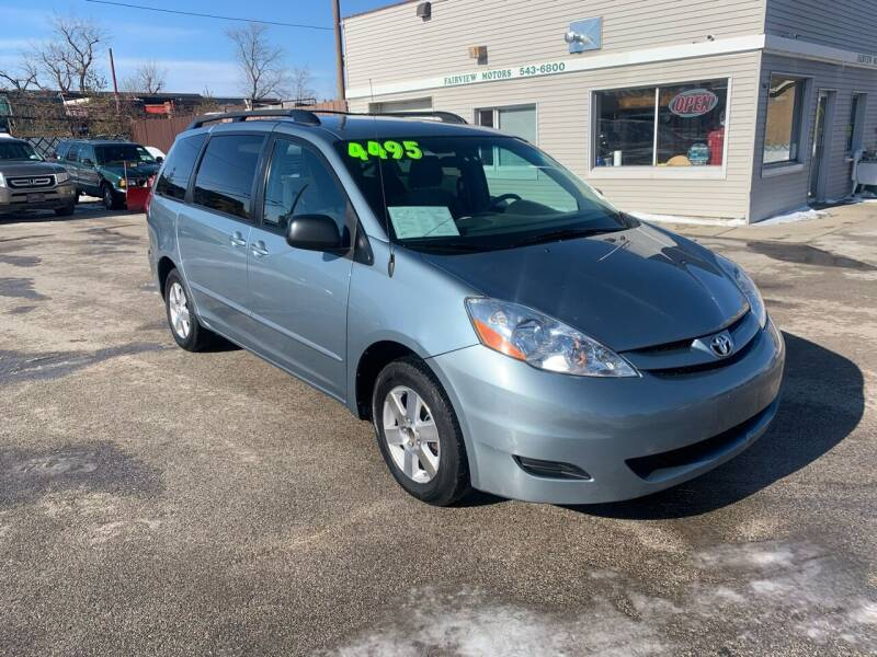 2009 Toyota Sienna for sale at Fairview Motors in West Allis WI
