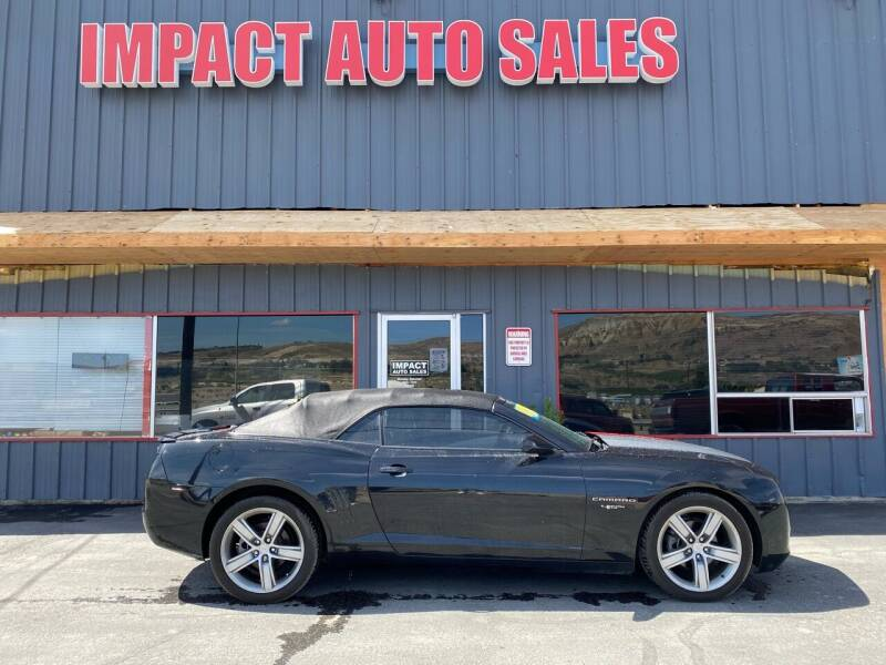 2012 Chevrolet Camaro for sale at Impact Auto Sales in Wenatchee WA