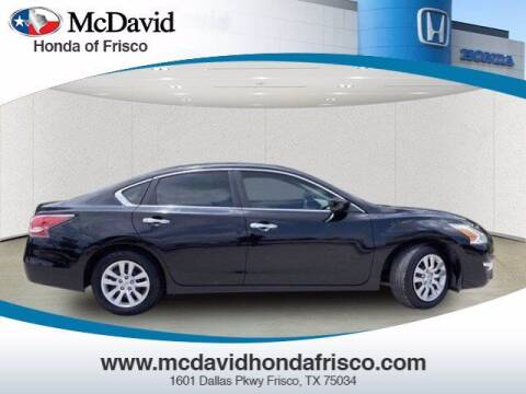 2015 Nissan Altima for sale at DAVID McDAVID HONDA OF IRVING in Irving TX
