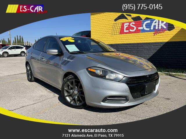 2015 Dodge Dart for sale at Escar Auto in El Paso TX