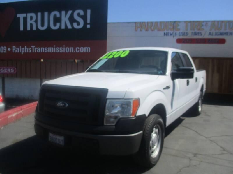 2012 Ford F-150 for sale at Quick Auto Sales in Modesto CA