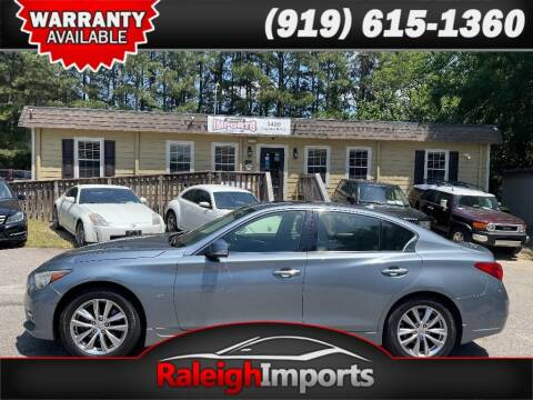 2014 Infiniti Q50 for sale at Raleigh Imports in Raleigh NC