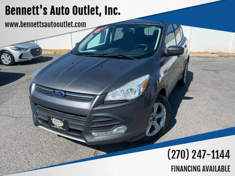 2014 Ford Escape for sale at Bennett's Auto Outlet, Inc. in Mayfield KY