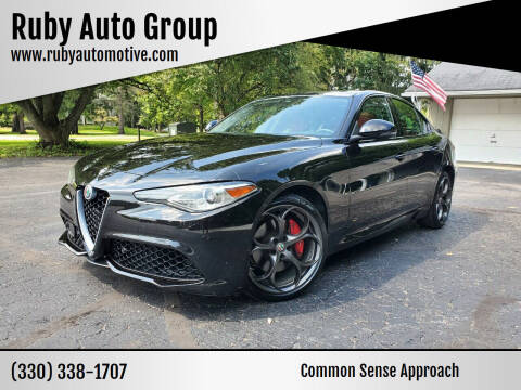 2017 Alfa Romeo Giulia for sale at Ruby Auto Group in Hudson OH