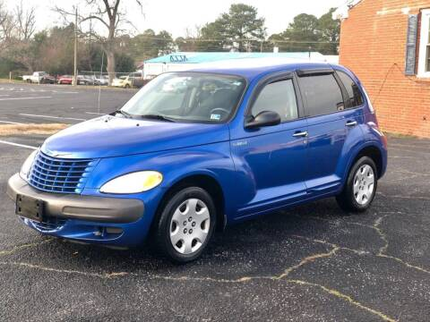 2003 Chrysler PT Cruiser for sale at Carland Auto Sales INC. in Portsmouth VA
