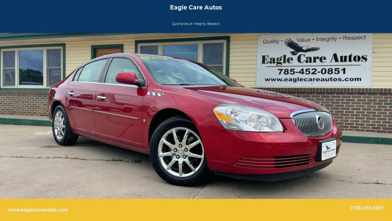 2008 Buick Lucerne for sale at Eagle Care Autos in Mcpherson KS