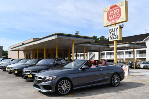 2018 Mercedes-Benz C-Class for sale at Houston Used Auto Sales in Houston TX